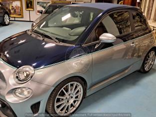 Fig 1 - Fig 1 - AUTOVETTURA FIAT 500 ABARTH 69...
