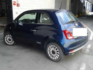 Fig 1 - Fig 3 - Autoveicolo Fiat 500