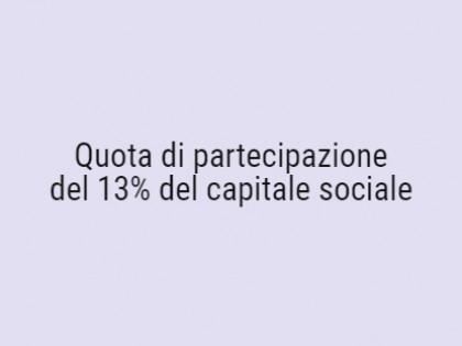 Fig 1 - Fig 1 - Quote partecipazione del 13% d...