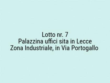 Fig 1 - Fig 1 - Lotto: VIA PORTOGALLO - CABINA...