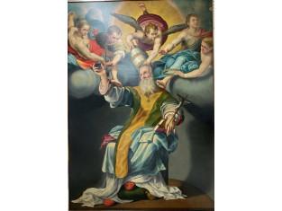Fig 1 - Fig 1 - Dipinto Santo Stefano Papa, re...