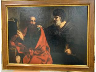 Fig 1 - Fig 1 - Dipinto Scena biblica, realizz...