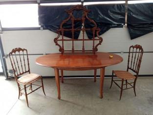 Fig 1 - Fig 1 - Un tavolo ovale con prolunghe,...