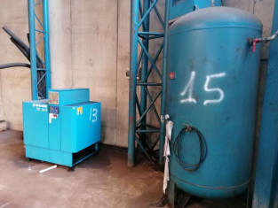 Fig 1 - Fig 1 - (Lotto n.13) Compressore Boge...
