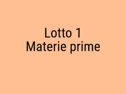Fig 1 - Fig 1 - Materie prime: lamiere e tubi,...