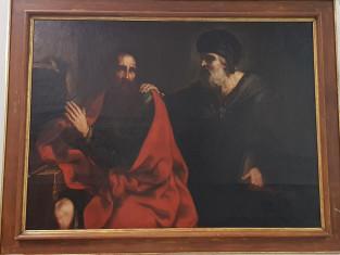 Fig 1 - Fig 2 - Dipinto Scena biblica, realizz...