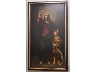 Fig 1 - Fig 1 - Dipinto Salvatore con un fanci...