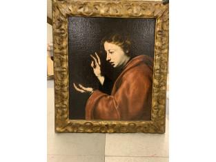 Fig 1 - Fig 2 - Dipinto San Giovanni Evangelis...