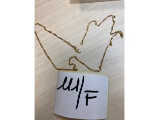 Fig 1 - Fig 1 - Art. F Collana in oro 18K con...