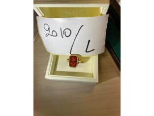 Fig 1 - Fig 1 - Art. L Anello in oro 18K con p...